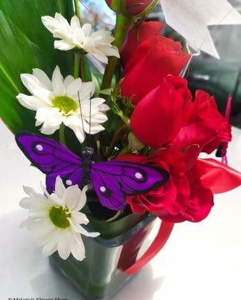 rosas rojas - petite - Melany's Flower Shop