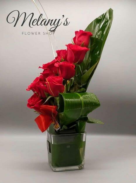 rosas rojas melany flower shop