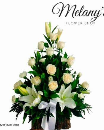 Arreglo funeral forever condolencias