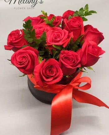 Arreglo de rosas en el salvador 1 Melany's Flower Shopp