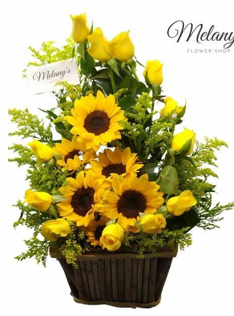 Love in yellow 1 - Rosas amarillas - Melany flower Shop