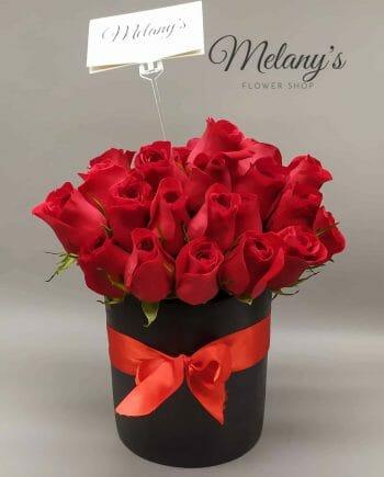 passion rosas rojas en el salvador melany flower shop